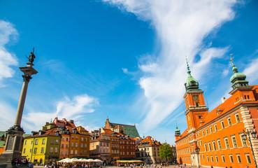 Zamek królewski, symbol Warszawy, Polska