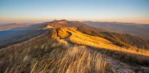 Piękne góry w Polsce - Bieszczady