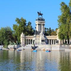 Madrid - Retiro Park. Spain landmark.