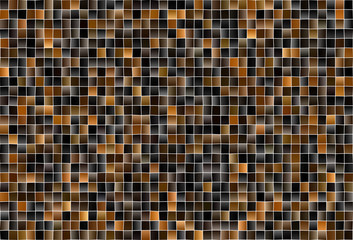 Dark Brown vector layout with lines, rectangles.
