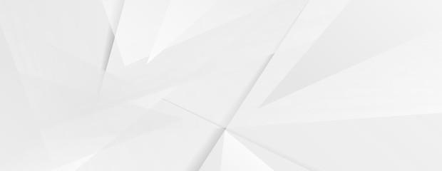Abstract grey hi-tech polygonal corporate background. Vector stripes minimal light design