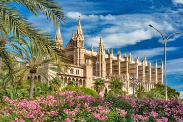 Palace of Almudaina and Cathedral La Seu of Palma de Mallorca