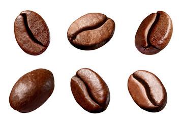 ziarno kawy brązowa prażona kofeina ziarno espresso