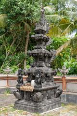 details of the Hindu  'Pura Segara' temple at Lembongan, Bali, IDN