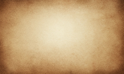 Brown grunge background, paper texture, streaks, rough, streaks, vintage, retro, old, beige, place for text, paper