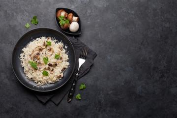 Pyszne risotto z grzybami