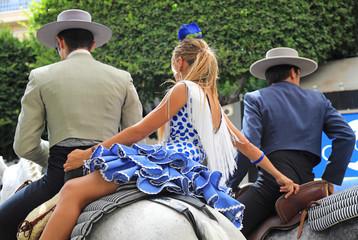 trio de jinetes andaluces fiesta almería 4M0A6439-as19