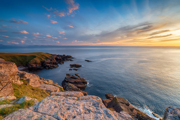 Sunset from Stoer Head