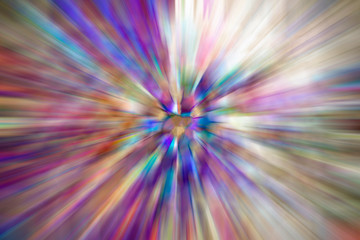 abstract purple white energy background of fuzzy motion lines from center