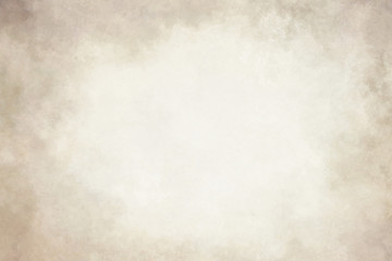 Brown ocher cotton hand-painted background