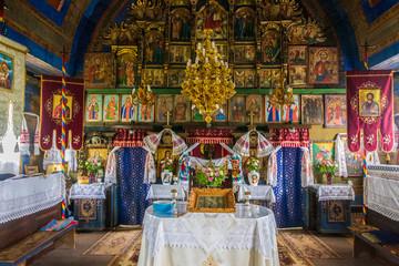 Budesti Wooden Church, Maramures, Romania, Europe