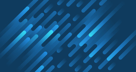 absract modern line rounded tilted design background blue color