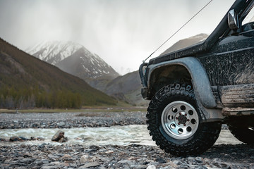 Big extreme offroad ready car