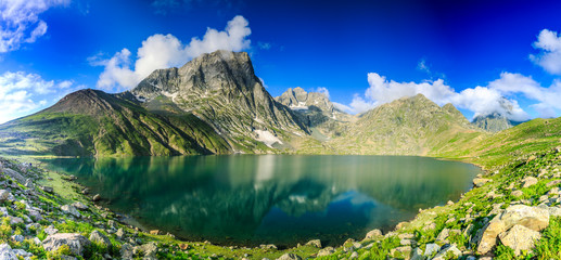 The great lakes of Kashmir, India