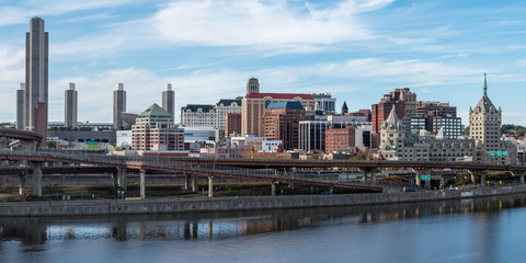 Panaroma of Albany downtown