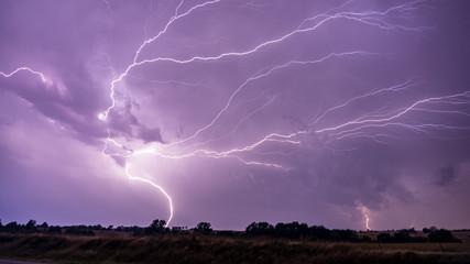 Oklahoma Lightning Bolt