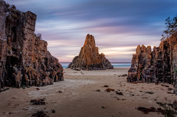 Long exposure at Pyramid rock on the far south coast of NSW