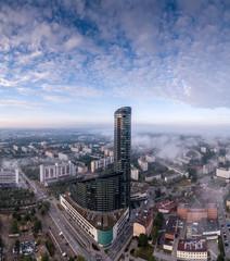 Wrocław Sky Tower aerial view
