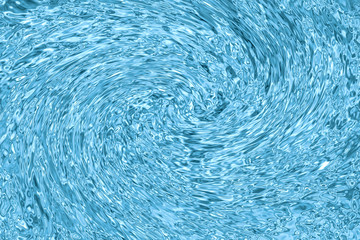 Ripples twirl Water Surface.  Abstract Blue Waves Background, summer , pool, ocean