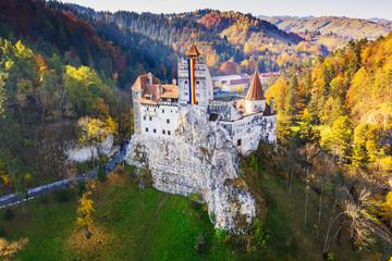 Brasov, Transylvania. Bran Castle, Romania.