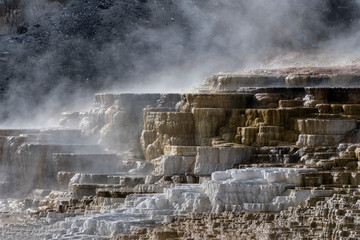 Lower Terrace Mammoth Hot Springs, Yellowstone