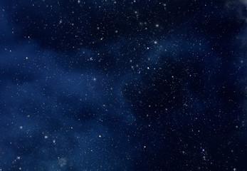Starry Sky with Stars