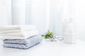 タオル, 洗濯,日本,家事
