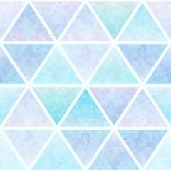 Pastel triangle seamless pattern.