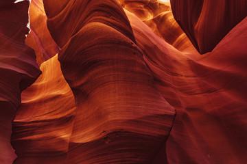 View into lower antelope canyon arizona