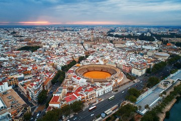 Seville aerial view