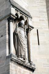 Detail from Notre Dame de Paris Cathedral
