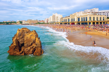 Biarritz city, Basque Country, France