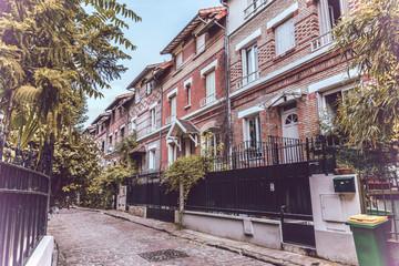Picturesque street in Paris