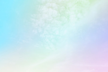 Soft Cloud sky subtle background pastel gradient color  for sky cloud nature abstract background