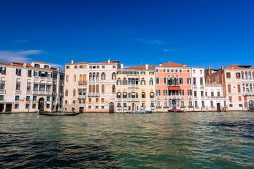 ベネチア 大運河と街並み