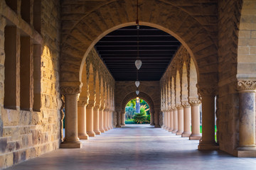 Stanford University Romanesque  Archway