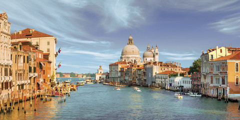 view of the city of venice italy