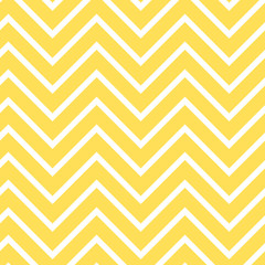 Yellow chevron seamless pattern. Bright yellow zigzag repeating pattern for fabric, baby shower paper, gift wrap, backgrounds, borders, frames, scrapbooking and more.