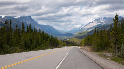 Icefield Parkway, Banff National Park, Alberta, Canada