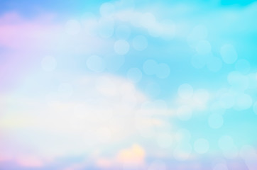 Clouds and skies with a pastel background and sweet sky background wallpaper