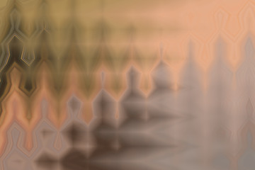 Saturated brown background illustration, bright interesting design in a warm shade
