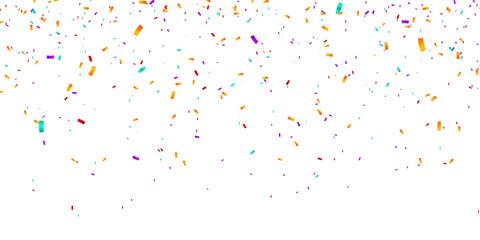Confetti Background. Vector illustration confetti background. Party and birthday confetti vector background