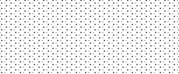Simple irregular polka dot pattern background. Big and small dots seamless background