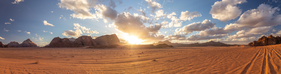 Wadi Rum desert (reserve), Jordan.