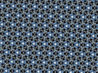 Abstract style pattern Background - symmetry shape pattern with colors