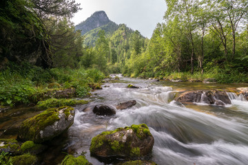 The river Babha in the Khamar-Daban mountains, Baikal region