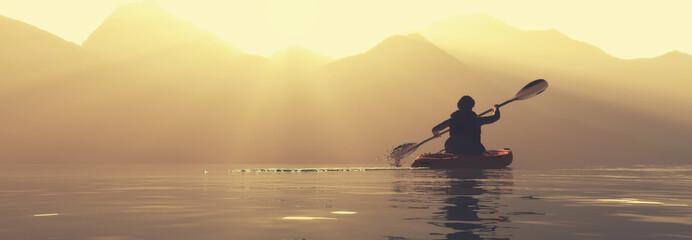 explore mountains kayak