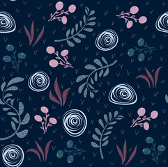 Abstract seamless pattern with bright colors for your creative ideas. A nice template can be used for design of tiles, fabrics, textiles, decor, covers, wallpapers