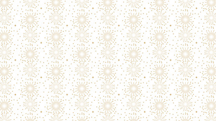 Pattern design of fireworks for new year eve or new year party. Decorative pattern design. Modern pattern background design