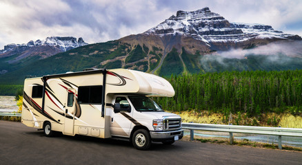 Motorhome RV Vacation Adventure Getaway